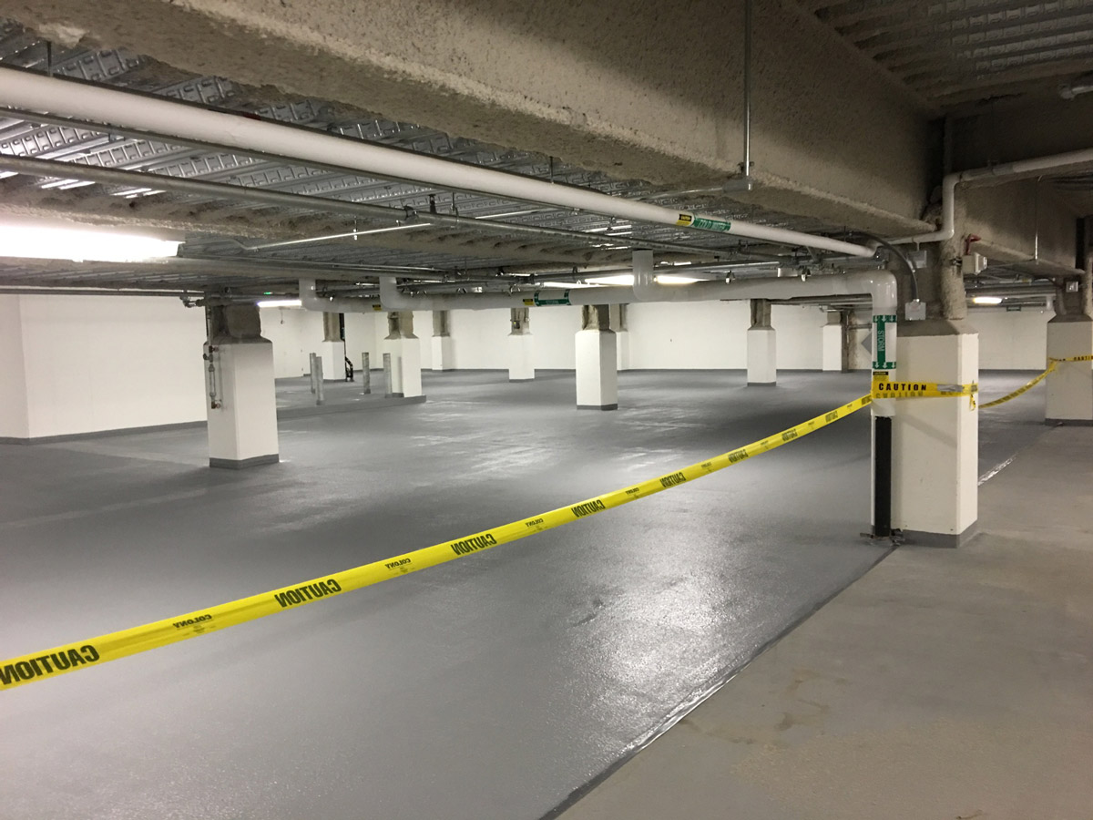 Parking Garage Repair - P  J  Spillane Company, Inc